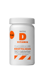 Matas D-vitamin 80 µg  180 tabl.