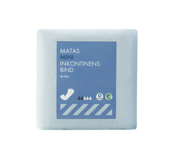 Matas Striber Mini Inkontinens Bind 20 stk.