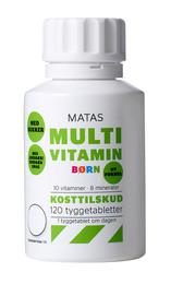 Matas Multivitamin Børn 120 tabl.