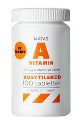 Matas Striber Matas A-vitamin 100 tabl.