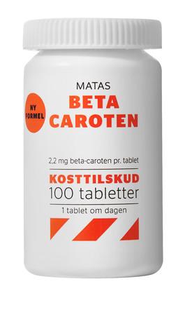 Matas Striber Beta Caroten 100 tabl.
