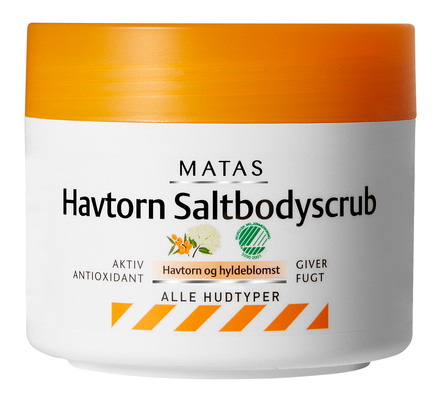 Matas Havtorn Saltbodyscrub 250 g