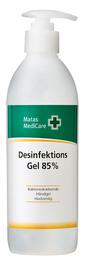 Matas Medicare Desinfektionsgel 85% 500 ml