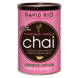 David Rio Chai Flamingo Vanilla