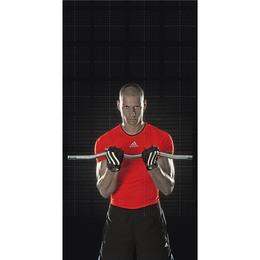Adidas Sh Fingrd Wtlft Glvs - XXL Striped Wrist
