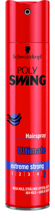 Schwarzkopf Poly Swing Hårlak Ultimate 250 ml