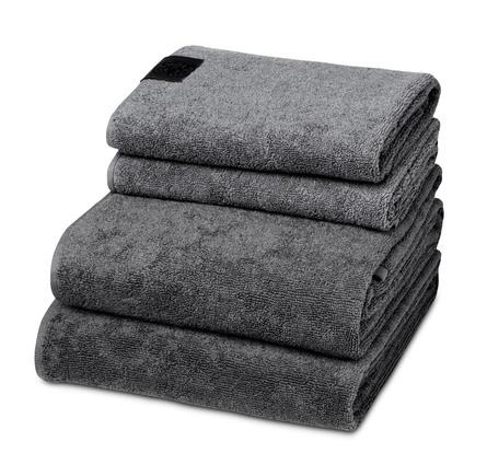 Georg Jensen Damask håndklæder 4 stk skifergrå