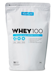 BodyLab Whey 100 Strawberry DeLuxe 1 kg