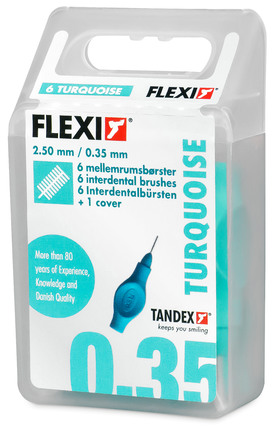 Tandex Mellemrumsbørste Flexi X-micro 6 stk.