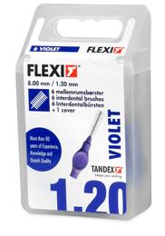 Tandex Mellemrumsbørste Flexi Medium 6 Stk.