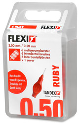 Tandex Mellemrumsbørste Flexi Super Fine 6 stk.