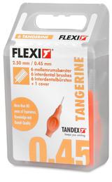 Tandex Mellemrumsbørst FlexiUltra Fine 6Stk Orange 6 stk.