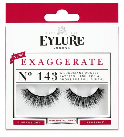 Eylure Kunstige Øjenvipper Exaggerate 143