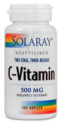 Solaray C-Vitamin 500 mg 100 depotkapsler