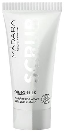 MÁDARA Exfoliating Scrub Oil-To-Milk 12,5 ml