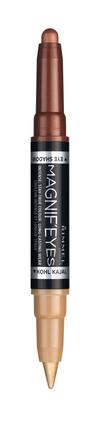 Rimmel Magnif'Eyes 2i1 Øjenskygge & Eyeliner 003 003 Queens Of A Bronzed Age