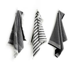 Elvang gaveæske med 3 gæste håndklæder
