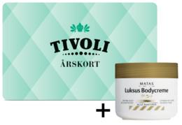 Køb Tivoli Årskort 2017 og få en gave,værdi 54,95