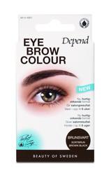 Depend Øjenbrynsfarve brun/Sor