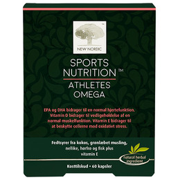 New Nordic Sports Nutrition™ - Athlets Omega  60 kaps.