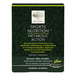 New Nordic Sports Nutrition™ - Metabolic Action 60 tabl