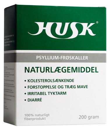 HUSK Husk Psyllium-frøskaller 200 g