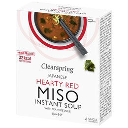 Instant Miso Soup Hearty Red 40 g