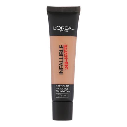 L'Oréal Paris Infallible Matte Fdt. 20 Sand