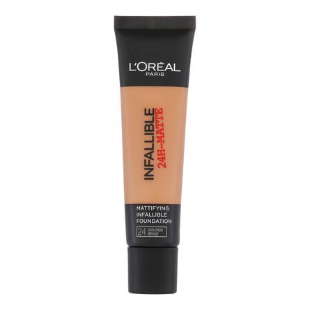 L'Oréal Paris Infallible Matte Fdt. 24 Golden Beig
