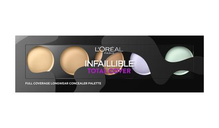 L'Oréal Paris Infallible Cover Concealer Palette