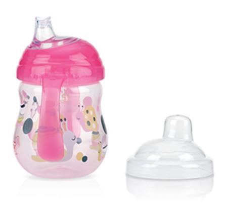 Nûby Clik-It Starterkop 270 ml Pink