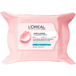 L'Oréal Rare Flower Renseservietter normal hud