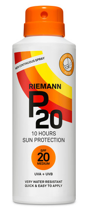 P20 Riemann Continuous Spray SPF 20 150 ml