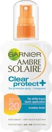 Garnier Clear Protect Spray SPF 20 200 ml