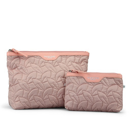 Gillian jones 2 delt sæt i rosa quilt
