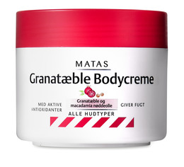 Matas Striber Matas Granatæble Bodycreme 250 ml 250 ml