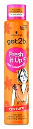 Got2b Dry Shampoo Fresh it Up Texture 200 ml