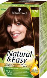 Schwarzkopf Natural & Easy 576 Kastanie