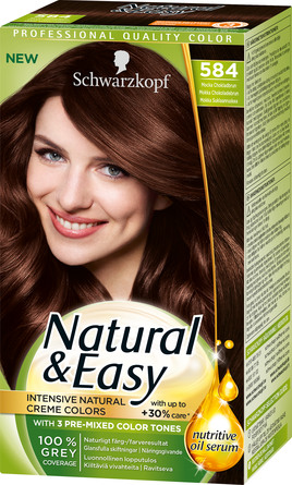 Schwarzkopf Natural & Easy 584 Mocka chokoladebrun