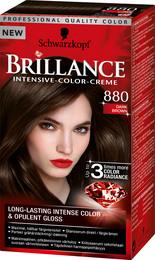 Schwarzkopf Brillance 880 Mørkebrun