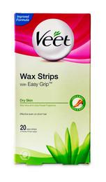 Veet Wax Strips 20 stk til tør hud 20 stk.