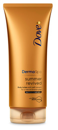 Dove DermaSpa Summer Revived Dark Bodylotion 200ml