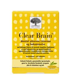 New Nordic Clear Brain 60 tabl.