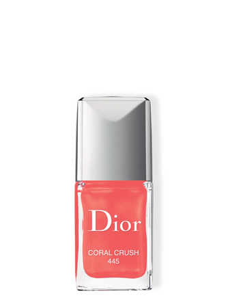 DIOR VERNIS COUTURE COLOUR, GEL SHINE, LONG WEAR N 445 CORAL CRUSH