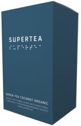Supertea Green Tea Coconut Organic 20 br.  Øko