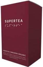 Supertea Hibiscus Cinnamon Organic 20 br.  Øko