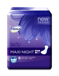 TENA Lady Maxi Night 6 stk.