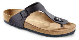 Birkenstock Gizeh Leather N Black 37