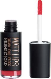 Nilens Jord Matt Lips Creamy Liquid Lipstick 918  Love