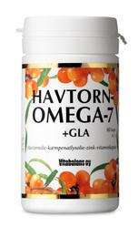 Havtorn omega 7 + GLA 60 kap